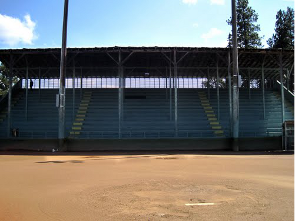 Memorial Field grandstands small