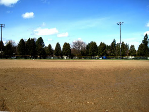 Memorial Field infield small