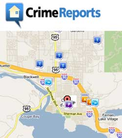 City of Coeur d'Alene - Crime Maps and Reports