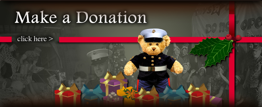 Toys For Tots Marine Bear : City of coeur d alene marine toys for tots