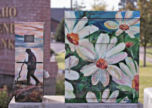 City Of Coeur D Alene Public Art Utility Boxes